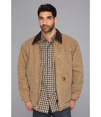 Carhartt Sandstone Ridge Coat Frontier Brown Men's Jacket