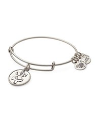 Alex And Ani Piece Of The Puzzle Charm Bangle Silver