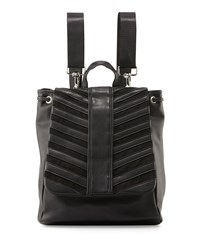 Gx By Gwen Stefani Hattie Flap Top Backpack Black Matte