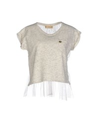 Met And Friends Topwear Sweatshirts Women Ivory
