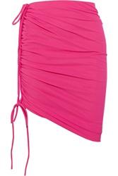 Lanvin Ruched Bandeau Beach Skirt