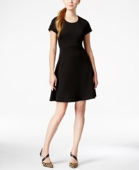 Maison Jules Textured Fit And Flare Dress Only At Macy's