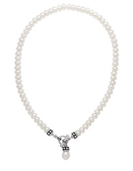 Honora Style Sterling Silver Freshwater Pearl Necklace Pearl Silver