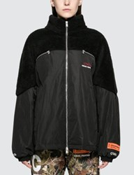 Heron Preston Ctnmb Polarfleece Down Jacket