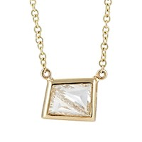 Grace Lee Women's Module Pendant Necklace Yellow
