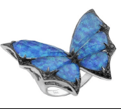 Stephen Webster Fly By Night Crystal Haze Large Ring Blue