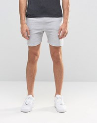 Another Influence Ribbed Sweat Shorts Grey