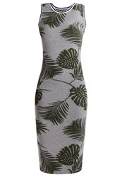 Superdry Tipped Shift Dress Shadow Grey