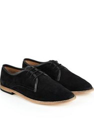 Hudson Hayane Suede Lace Up Shoes Black