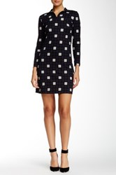 Orla Kiely Printed Shift Dress Blue