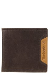 Timberland 'S Cloudy Leather Wallet Brown