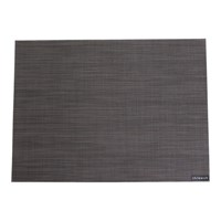 Chilewich Mini Basketweave Rectangle Placemat Espresso