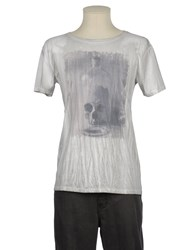 Gorgeous Topwear Short Sleeve T Shirts Men Light Grey