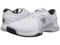 Wilson Nvision Elite White Gray Coal Men's Tennis Shoes