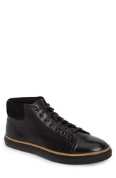 English Laundry Grove Sneaker Black Leather