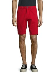 Superdry Classic Cotton Chino Shorts Red