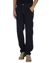 Armani Jeans Casual Pants Dark Blue