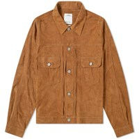 Visvim 101 Italian Suede Jacket Brown