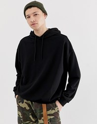 Cheap Monday Hoodie In Black