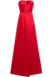Jason Wu Silk Cotton Gown Red