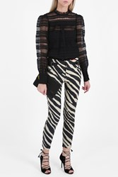 Isabel Marant Suede Zebra Trousers