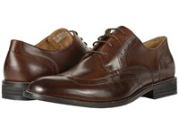 Nunn Bush Slate Wing Tip Oxford Dress Casual Lace Up Brown Lace Up Wing Tip Shoes