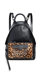 Rebecca Minkoff Emma Mini Convertible Backpack Leopard Haircalf