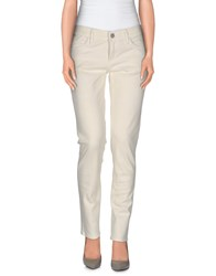 Gold Sign Goldsign Trousers Casual Trousers Women Ivory