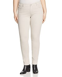 Marina Rinaldi Radura Super Stretch Jeans In Light Gray