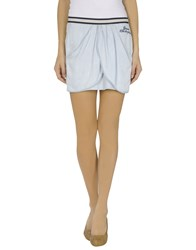 Guess Skirts Mini Skirts Women Sky Blue