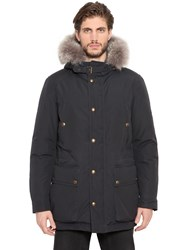 Belstaff Pathfinder Down Jacket W Fur Trim