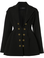Ellery Double Breasted Blazer Black