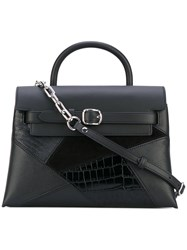 Alexander Wang Attica Tote Women Calf Leather Calf Suede One Size Black