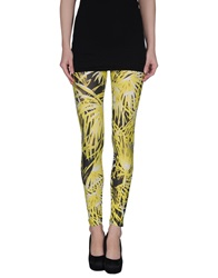 Fausto Puglisi Leggings Yellow