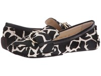 Frances Valentine Teddy Giraffe Multi Haircalf Women's Shoes Black