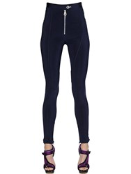 Versace Stretch Viscose Leggings