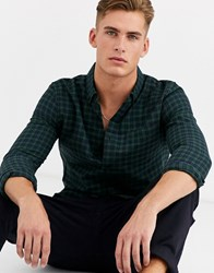 New Look Shirt In Green Check