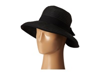 San Diego Hat Company Pbm1026 Sunbrim W Back Bow And Contrast Edging Black Caps