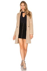 Bardot Tash Coat Tan