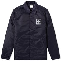 Ksubi Sign Of The Times Coach Jacket Blue