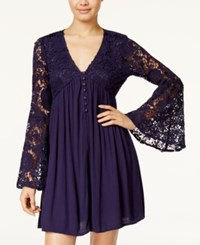 American Rag Bell Sleeve Babydoll Dress Only At Macy's Eclipse