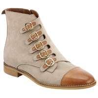 Alice By Temperley Somerset By Alice Temperley Prestleigh Buckle Ankle Boots Natural
