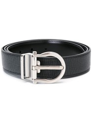 Salvatore Ferragamo Adjustable Belt Black