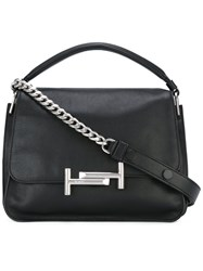 Tod's 'Double T' Shoulder Bag Black