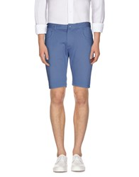 Patrizia Pepe Trousers Bermuda Shorts Men Pastel Blue