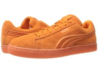 Puma Suede Classic Badge Iced Golden Poppy Men's Shoes Orange