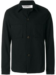 Individual Sentiments Shirt Jacket Black