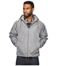 Brixton Claxton Jacket Grey Men's Coat Gray