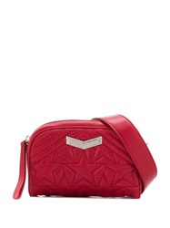 Jimmy Choo Helia Belt Bag Red