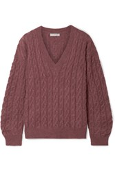 Vince Cable Knit Sweater Antique Rose